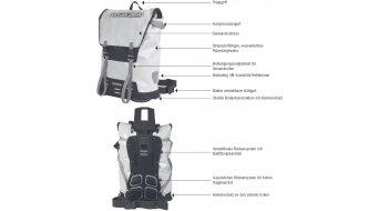 Ortlieb Messenger-Bag XL Kuriertasche gelb/schwarz (Volumen:60L)