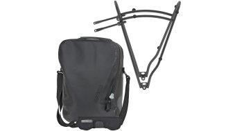 Ortlieb Single-Bag bolso para rueda trasera QL3 negro(-a) (Volumen:12L) incl. Tubus Minimal portaequipajes