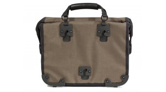 Ortlieb Office-Bag Plus bicicleta-portafolios QL3 tamaño L haselnuss/negro(-a) (Volumen:21L)