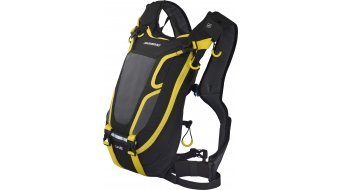 Shimano Unzen II Enduro hátizsák 4 liter-Volumen fekete/sárga (ivórendszer-kompatibilis)