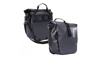Thule Shield Pannier sacoche vélo paire Small (14 litre ) dark shadow- objet de démonstration sans emballage dorigine