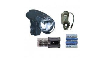 Busch & Müller Ixon IQ Premium LED-faro-juego incl. acumulador & cargador & IXBACK senso luz trasera