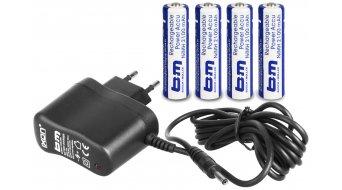 Busch & Müller Ixon IQ accumulatore faro incl. caricabatteria e 4 accumulatore s (2100mAh)