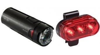 Bontrager Ion 35/Flare 1 set luce black