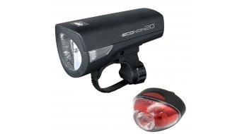 Cat Eye HL-EL345GRC / TL-LD611G Econom Beleuchtungskit schwarz