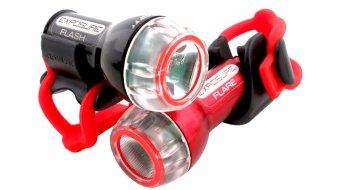 Exposure Lights Flare LED Beleuchtung rote LED 75 Lumen inkl. Batterie und Sattelstützenhalterung (Abb. ähnlich))
