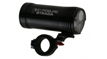 Exposure Lights Strada Mk6 Road LED-Scheinwerfer 1000 Lumen schwarz inkl.Stangenhalterung & Remote Switch