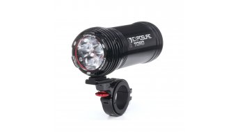 Exposure Lights Toro Mk8 LED luz delantera 1800 Lumen incl. Stangenhalterung 31,8mm