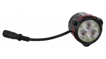 Hope District+ LED iluminación rojos(-as) LED (incl. 2-Zellen-acumulador, cargador & cable separable)