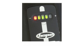 Hope R2 LED Beleuchtungssystem All Sports (inkl. 1x 4-Zellen- & 1x 2-Zellen-Akku mit Kapazitätsanzeige)