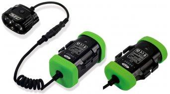 Hope R2 LED impianto di lluminazione All Sports (incl. 1x 4-Zellen- & 1x 2-Zellen- accumulatore con Kapazitäts indicazione)