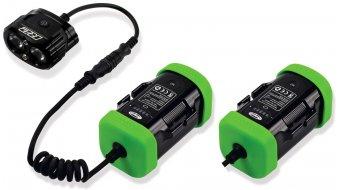 Hope R2 LED sistema de iluminación Endurance (incl. 2x 4-Zellen-acumulador con Kapazitätsanzeige)