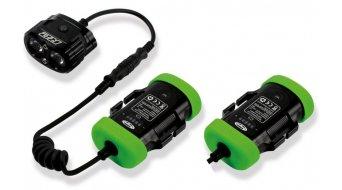 Hope R2 LED sistema de iluminación Lightweight Endurance (incl. 2x 2-Zellen-acumulador con Kapazitätsanzeige)