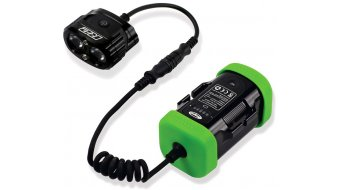 Hope R2 LED impianto di lluminazione Epic (incl. 1x 4-Zellen- accumulatore con Kapazitäts indicazione)
