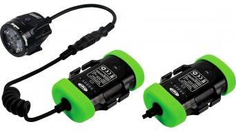 Hope R4+ LED système déclairage Lightweight Endurance (incl. 2x 2-Zellen-accumulateur avec affichage de capacité)