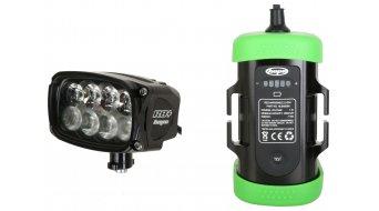 Hope R8+ LED impianto di lluminazione Standard (incl. 6-Zellen- accumulatore con Kapazitäts indicazione)