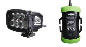 Hope R8 LED sistema de iluminación estándar (incl. 6-Zellen-acumulador con Kapazitätsanzeige)
