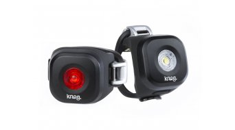 Knog Blinder Mini lámpara LED Twinpack 11-20Lumen Dot negro Mod. 2017