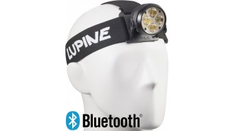 Lupine Wilma RX 7 luce da portare in fronte 28W/3200 Lumen nero incl. Bluetooth Remote mod. 2016