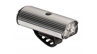 Lezyne LED Super Drive 1200 XXL sistema di illuminazione grigio chiaro lucido LED- bianco (1200Lumen)