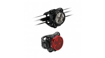 Lezyne LED Zecto Drive set déclairage LED-rouge/blanc (120-20Lumen)