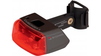 Sigma Sport Cuberider II iluminación negro(-a)