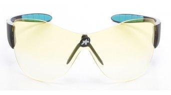 Assos zegho Amplify Brille schwarzer Rahmen/gelbe Gläser