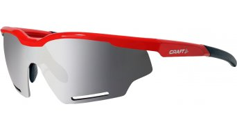 Craft Bike Brille red/smoke silver multi