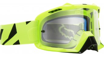 Fox Air Defence MX-Goggle race amarillo/clear
