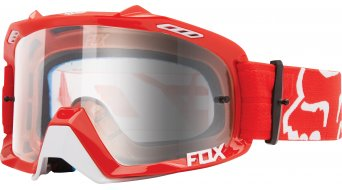 FOX Air Defence maschera da MX race red/clear
