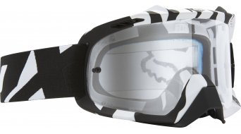 FOX Air Defence maschera da MX black zebra/clear