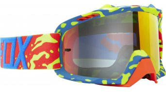 Fox Air Space Cauz MX-Goggle yellow-red/red spark