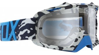 Fox Air Space Cauz MX-Goggle blue/clear