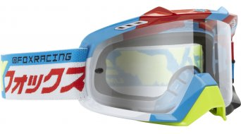 FOX Air Space Divizion avec-Goggle yellow-blue/clear