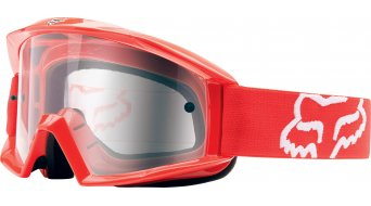 Fox Main MX-Goggle red/clear