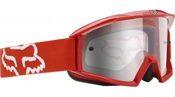 Fox Main MX-Goggle rojo/clear