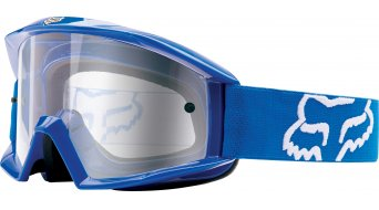 Fox Main MX-Goggle azul/clear