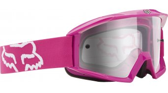 Fox Main MX-Goggle hot pink/clear