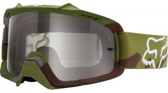 Fox Air Space Camo MX-Goggle niños-gafas Youth verde camo/clear