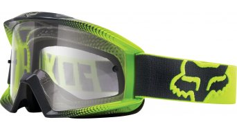 Fox Main Race 2 MX-Goggle niños-gafas Youth flo amarillo-grey/clear