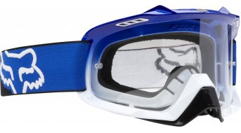 Fox Air Space MX-Goggle race blue-white fade/clear