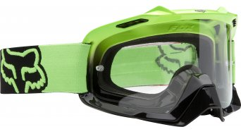Fox Air Space MX-Goggle day glow green/clear