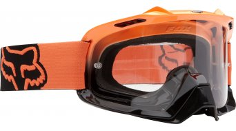 Fox Air Space MX-Goggle day glow orange/clear