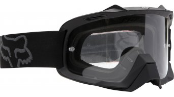 Fox Air Space MX-Goggle matte black/clear