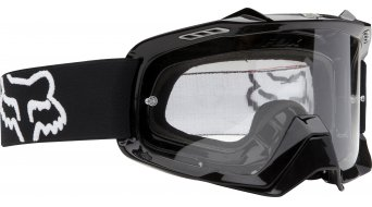 Fox Air Space MX-Goggle polished black/clear