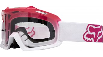 Fox Air Space MX-Goggle Kinder-Brille Youth Hot Pink/White Fade/Clear