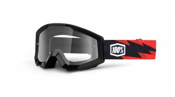 100% Strata Goggle Kinder-Goggle Youth (Anti-Fog clear lens)