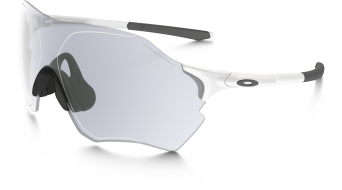 Oakley EVZero Range gafas matte blanco/clear to negro iridium photochromic