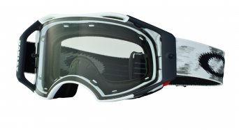 Oakley Airbrake MX Goggle matte white speed/clear