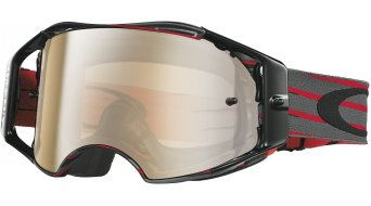 Oakley Airbrake MX Goggle nemesis red/gunmetal/black iridium